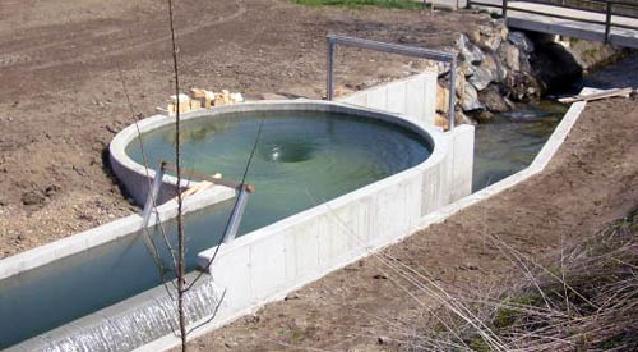 Водоворотная микро-ГЭС